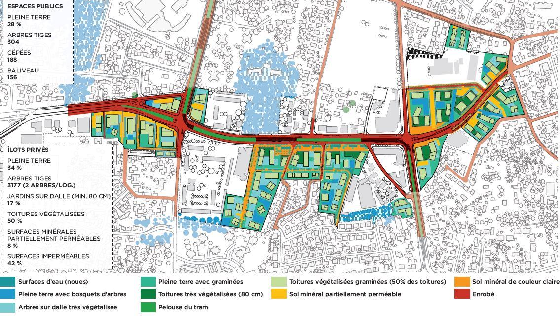 Zoom sur la renaturation du secteur Marne (Martin Duplantiers Architectes)