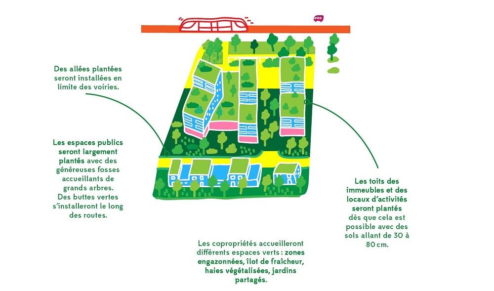 Les grands principes de la renaturation des îlots de logements sur le secteur Marne_light